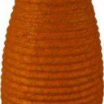 Guru-Shop Petit Abat-jour Ovale en Papier Lokta, Lampe Suspendue Corona, Blanc Naturel, DupapierLokta, Couleur : Blanc Naturel, 42x22x22 cm, Papier Ovale D'abat-jour de la marque Guru-Shop image 1 produit
