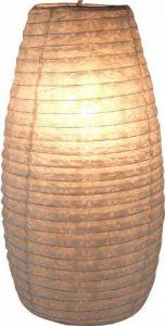Guru-Shop Petit Abat-jour Ovale en Papier Lokta, Lampe Suspendue Corona, Blanc Naturel, DupapierLokta, Couleur : Blanc Naturel, 42x22x22 cm, Papier Ovale D'abat-jour de la marque Guru-Shop image 0 produit
