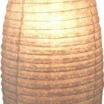 Guru-Shop Petit Abat-jour Ovale en Papier Lokta, Lampe Suspendue Corona, Rouge, DupapierLokta, Couleur : Rouge, 42x22x22 cm, Papier Ovale D'abat-jour de la marque Guru-Shop image 2 produit