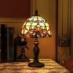 Gweat 8 Pouces Baroque Européenne Tiffany Lampe De Table Chambre Lampe Lampe De Chevet de la marque Gweat Tiffany image 1 produit