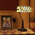 Gweat Tiffany 10 Pouce Style Rétro Jeweled Banquier Lampe De Table de la marque Gweat Tiffany image 1 produit