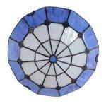 Gweat Tiffany 12-Pouce Pastorale Style Européen Vitrail Série Méditerranéenne Flush Mount Ceiling Light lumière pendante Dining Room Lumière de la marque Gweat Tiffany image 3 produit