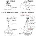Gweat Tiffany 12-Pouce Pastorale Style Européen Vitrail Série Méditerranéenne Flush Mount Ceiling Light lumière pendante Dining Room Lumière de la marque Gweat Tiffany image 4 produit