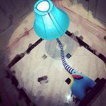 GX Lampadaire Creative Dessin Animé Belle Éléphant Nez Lampadaire Chambre Lampe Salon Chambre D'enfants Rustique Style Tissu Lampe Décoration d'intérieurA+ de la marque GAOXINGSHOP image 3 produit