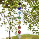 H & D Cristal Chakra Dream Catcher Lustre Boule prismes Attrape-soleil Octagon Perles à suspendre Rainbow FENGSHUI Pendentif Style-1 de la marque Inconnu image 3 produit