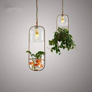 H&M Eclairage de plafond Luminaires Lustre Suspension Plante de jardin bouteille pendentif lampe chambre couloir salon Lampe Lustre de la marque H&M Luminaires Intérieur Lustres image 0 produit