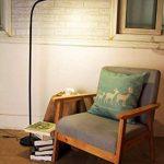 HaloOptronics - Rocket 1933 - Lampadaire LED 9W équivaut à 90W - Variation Tactile de Luminosité. Lampe LED / Lampe de Salon / Lampe de Chambre / Liseuse / Lampe Design. Tout En Aluminium. Multi-Position Rotatif 360°, Multi Usage, Hauteur Variable. Couleu image 1 produit