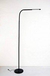 HaloOptronics - Rocket 1933 - Lampadaire LED 9W équivaut à 90W - Variation Tactile de Luminosité. Lampe LED / Lampe de Salon / Lampe de Chambre / Liseuse / Lampe Design. Tout En Aluminium. Multi-Position Rotatif 360°, Multi Usage, Hauteur Variable. Couleu image 0 produit