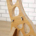 Hanamaki En Bois Original 1.1M Lampe De Plancher Chambre Éclairage Girafe Modélisation Shades Lin Blanc Moderne Chambre Cool Salon (Brun Clair) de la marque Hanamaki image 1 produit