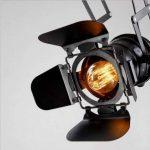 Hansemay Cru Industriel Style plafonnier Spot E27 lustre Rétro Lampe Applique Murale pour pendentif pour café Bar Salle à manger (Ampoules non comprises) de la marque Hansemay image 2 produit