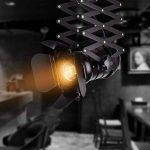Hansemay Cru Industriel Style plafonnier Spot E27 lustre Rétro Lampe Applique Murale pour pendentif pour café Bar Salle à manger (Ampoules non comprises) de la marque Hansemay image 4 produit