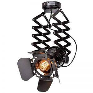 Hansemay Cru Industriel Style plafonnier Spot E27 lustre Rétro Lampe Applique Murale pour pendentif pour café Bar Salle à manger (Ampoules non comprises) de la marque Hansemay image 0 produit