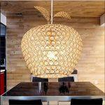 Haoaijia Lustres Acier Inoxydable Cristal Plafond Salon Plafonnier Led Lampes Diamètre 25Cm de la marque Haoaijia Lustres image 3 produit