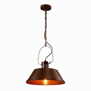 Haoaijia Lustres D40Cm Pendentif Métal Lumières Vintage Loft Abat-Jour Lampe Rétro de la marque Haoaijia Lustres image 0 produit