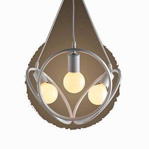 Haoaijia Lustres Vintage Pendentif Lampes Rétro Lampe Fer Abat-Jour Loft Métal Cage Salle À Manger Pendentif Lampe de la marque Haoaijia Lustres image 0 produit