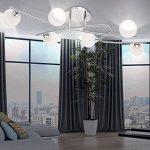 Haute qualité LED plafonnier verre boules blanc spotlight éclairage G9 lampe spot courbé de la marque Globo image 3 produit