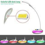 HEIMDALL lampe LED lampe de protection oculaire 3 niveaux d'éclairage de luminosité pour la lecture lampe de bureau à LED avec la lumière nocturne colorée de la marque HEIMDALL image 2 produit