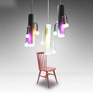 HhGold 3lumière LED créative Chandelier cylindrique Salle à Manger luminaires avec Segment d'effet (30 * 30 cm-27 f) - Objets de décoration éclairage est évident, (coloré : -, Taille : -) de la marque HhGold image 0 produit