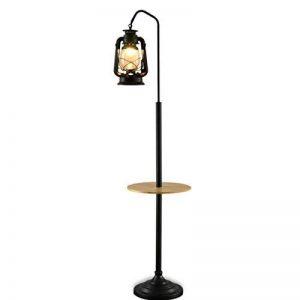 Home mall- Lampadaire style rétro chinois   Lampe debout de fer pour la salle d'étude de chambre à coucher 165X35cm de la marque Table lamp image 0 produit