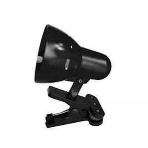 HOMEA 6LCE094NR Lampe de bureau à clipser Plastique Noir 13 cm de la marque HOMEA image 0 produit