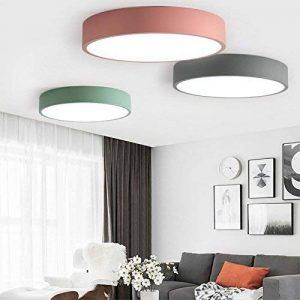 HomeLava 36W Plafonnier LED Lampe de Plafond D50cm Blanc Froid 2880LM 6500K Acrylique Moderne Pour Chambre à coucher d'enfant ,Salon, Couloir ,Salle de bain et le Balcon [Classe énergétique A+++] (Vert) de la marque HomeLava image 0 produit