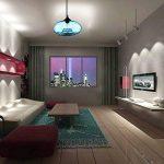 Homelavafans Lustre en verre Lampe Douille de lampe E27 60 W Suspension en conception de bulle luminaire moderne décoration bleu, pour salle ,cuisine,Salon,chambre de enfant de la marque HomeLava image 3 produit