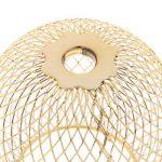 Homyl 5 Pcs Plafonnier Ronde LED Moderne Lampe de Murale Lumière de Nuit pour Chambre Couloir Salon Éclairage Intérieur Or de la marque Homyl image 3 produit