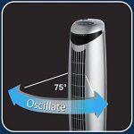 Honeywell HO1100RE Ventilateur Colonne 45 W Argent de la marque Honeywell image 4 produit