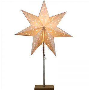 HUANGDA Lampe décorative de papier décoratif de personnalité créatrice d'étoiles, lampes simples modernes en bois pleines de la marque HUANGDA image 0 produit
