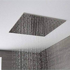 Hudson Reed - Pommeau De Douche 40 x 40cm Encastrable Plafond Design Carré Pluie Bienfaisante de la marque Hudson Reed image 0 produit