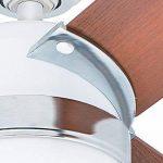 Hunter Fan 50616 Nova Ventilateur de plafond avec Eclairage Acier 47 W Blanc 107 cm de la marque Hunter image 3 produit