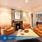 HyperSelect Ampoule LED Spot Culot GU10-5W - Blanc Chaud 2700K - Angle de Faisceau 120° - Éclairage du Plafond pour Rails de Spot/Luminaires - Lot DE 12 de la marque Hyperikon image 4 produit