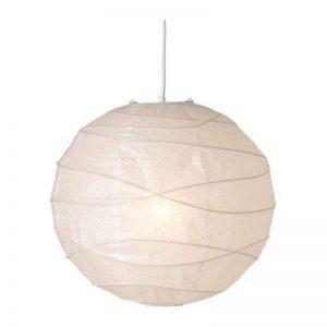 IKEA 5054186167236 REGOLIT Abat-Jour Suspension, Papier, Blanc de la marque Ikea image 0 produit