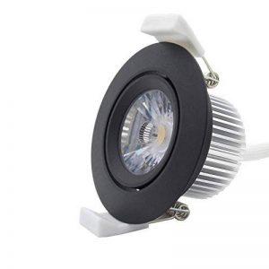 iluminize Spot LED: de qualité, longue durée et haute tension treiberloser COB Spot encastrable à LED (Spot LED), 6W, orientable, Ra 85(cri), Haute Tension 230V, intensité variable Triac 5% de 100%, longue durée de vie: 50000heures et garantie 5an image 0 produit
