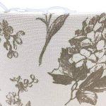 Imprimé floral Tissu Lin Abat-jour lampe double usage Pendentif Abat-jour Beige Couleur de la marque Home Decor image 1 produit