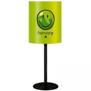 Incidence Paris 10343 Happy Colors Lampe Imprimé Harmony Métal/Polypropylène E14 Vert Anis de la marque Incidence Paris image 0 produit