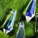Inconnu H & D 38mm coloré Attrape-soleil Cristal stalactites prismes Lustre Chute Pendentif DIY pièces, 10 pièces, 5 pièces de la marque Inconnu image 3 produit