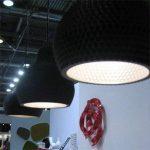Industreal LAMPE 300DPI lampe suspension en porcelaine noire de la marque INDUSTREAL image 4 produit