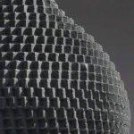 Industreal LAMPE 72DPI lampe suspension en porcelaine noire de la marque INDUSTREAL image 2 produit