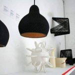 Industreal LAMPE 72DPI lampe suspension en porcelaine noire de la marque INDUSTREAL image 4 produit
