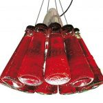 Ingo Maurer Campari Light - Suspension rouge/Taille 1/câble de suspension 155cm de la marque Ingo Maurer image 2 produit