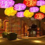 Injuicy Luminaires Moderne E27 Led Edison Nuage Lampe Suspensions Lustre Plafonniers en Coton Abat-jour Eclairage de Plafond pour Café Couloir Chevet Cuisine Salle à manger Salon Fille Chambres D'enfants et de Restaurant Cadeau (Diamètre 500mm) de la marq image 1 produit