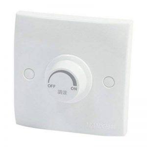 Interrupteur Mural-pour régulateur de Vitesse de Ventilateur de Plafond-CA 220V, 200W de la marque Sourcingmap image 0 produit