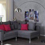 Invicta Interior stylische Lounge Deal Lampe en Arc télescopique en Chrome avec Pied en marbre 170–210cm de la marque Invicta Interior image 1 produit