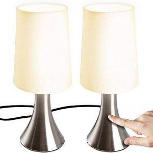 Jago–Jeu de 2lampes de chevet tactiles, 3intensités de lumière de la marque Jago image 0 produit