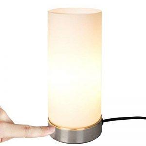 Jago - Lampe de Chevet Tactile en Verre et Métal 40 W 3 Modes de Travail (Quantité au Choix) de la marque Jago image 0 produit