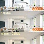 Jandei–5lampes LED rondes à encastrer downlight 18W 6000K Lumière blanche de la marque Jandei image 2 produit