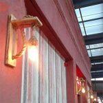 JLXMZX American retro mur lampe créative salon chambre escalier allée applique murale jardin solide chanvre bois corde applique murale E27 * 1 (y compris la lumière) 18 * 37 (CM) de la marque JLXMZX image 3 produit