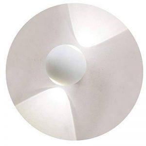 K-Bright LED Applique murale,6W Applique Murale LED Lampe pour Salle de Bain Lampe de Mur Lèche-murs Imperméable 54,4000K-4500K Blanc naturel,Lampe Murale Spot Décoratif Lumière pour Salon Chambre Hall,Blanc de la marque K-Bright image 0 produit
