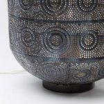 Kare Lampe 38217sol Sultan, 31cm, acier inoxydable, noir de la marque Kare image 3 produit